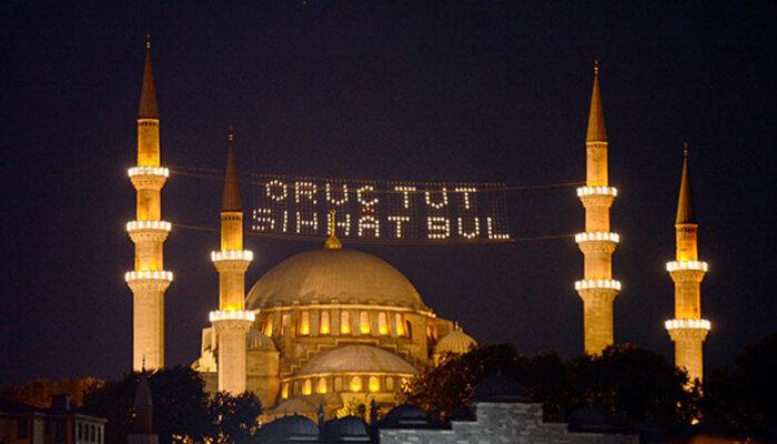 Ramazan imsakiyesi 2020: İstanbul, Ankara, İzmir ve tüm illerin imsak ve iftar vakitleri