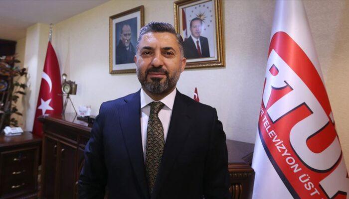 RTÜK Başkanı Şahin'den koronavirüs yayınları uyarısı: Buna tahammül edemeyiz