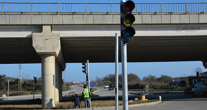 Sinop'ta artık trafik lambası var