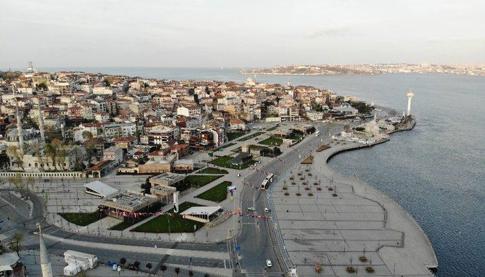 Sokağa çıkma kısıtlamasının ikinci gününde İstanbul boş kaldı