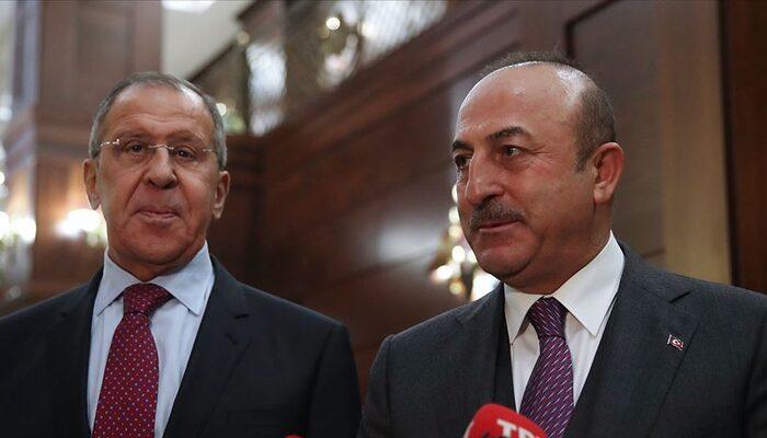 Son dakika: Çavuşoğlu ve Lavrov bir araya gelecek