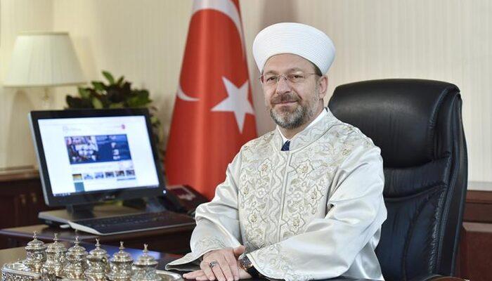 Son dakika: Diyanet İşleri Başkanı Ali Erbaş koronavirüs ile ilgili açıklama yapacak