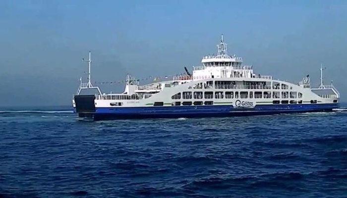 Son dakika: Gökçeada-Kabatepe feribot seferleri iptal edildi