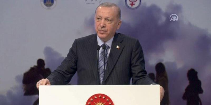 Son dakika haberi: Cumhurbaşkanı Erdoğan, Uluslararası Göç Konferansı'nda konuşuyor