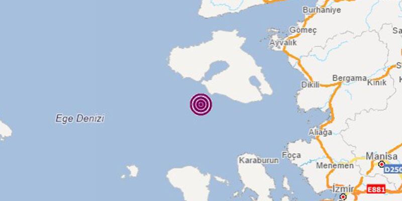 Son dakika haberi: İzmir'de bir deprem daha!