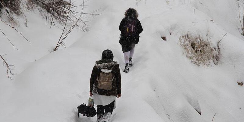 Son dakika haberi: Üç ilde eğitime kar engeli
