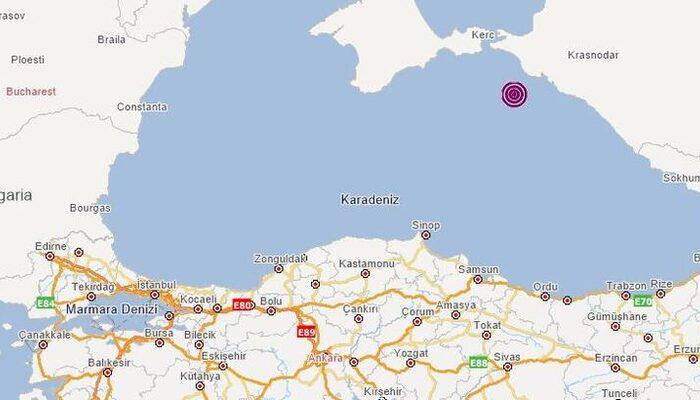 Son dakika haberleri: Karadeniz'de deprem! (AFAD duyurdu)