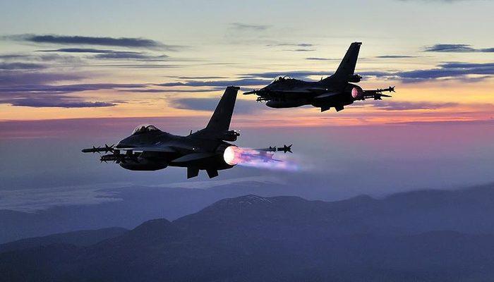 Son dakika: Irak'ın kuzeyine hava harekatı! 3 terörist etkisiz hale getirildi