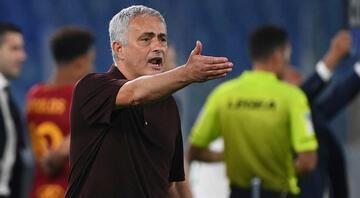 Roma, Mourinhonun 1000. maçında son dakika golüyle galip geldi
