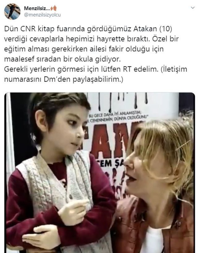 10 yaşındaki Atakan ile ilgili görsel sonucu
