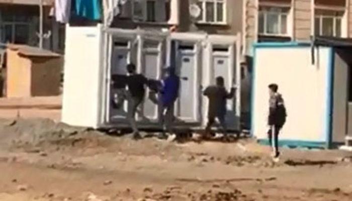 Sultangazi'de çocuklardan 'uyarı' saldırısı