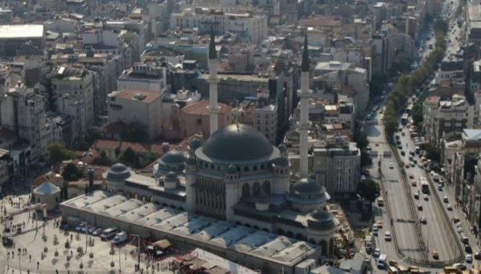 Taksim Camii'nin yüzde 80'i tamamlandı