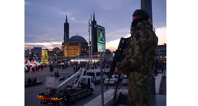 Taksim Meydanı'nda 'drone savar'lı güvenlik önlemi