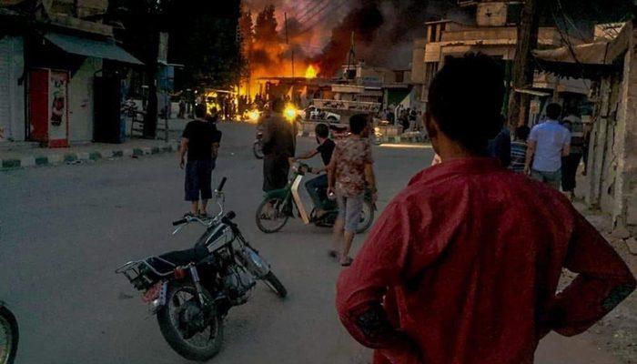 Tel Abyad'da bombalı terör saldırısı: 3'ü çocuk 6 kişi hayatını kaybetti