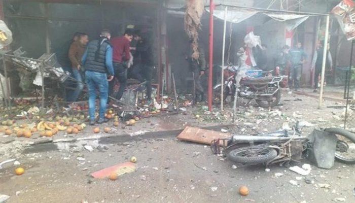 Terör örgütü PKK/YPG, Afrin'e grad füzesiyle saldırdı: 3 ölü, 9 yaralı