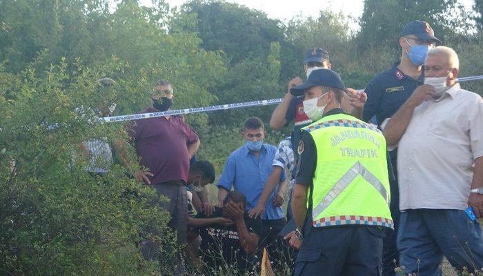 13 yaşındaki çocuğun kullandığı traktör şarampole yuvarlandı