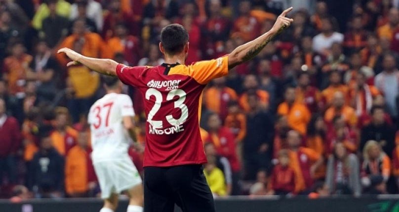 Gol düellosunda 3 puan Galatasaray#039;ın