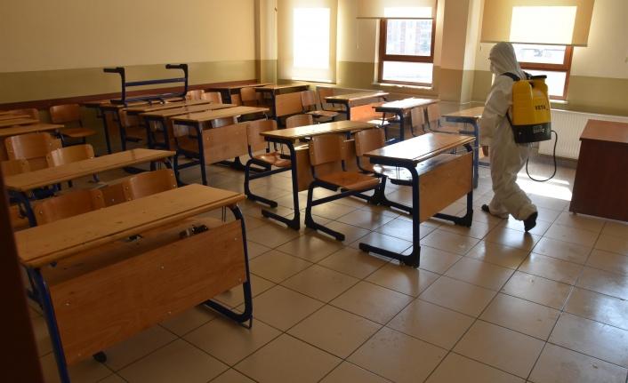 Okullar LGS ve YKS için yeniden ilaçlanacak