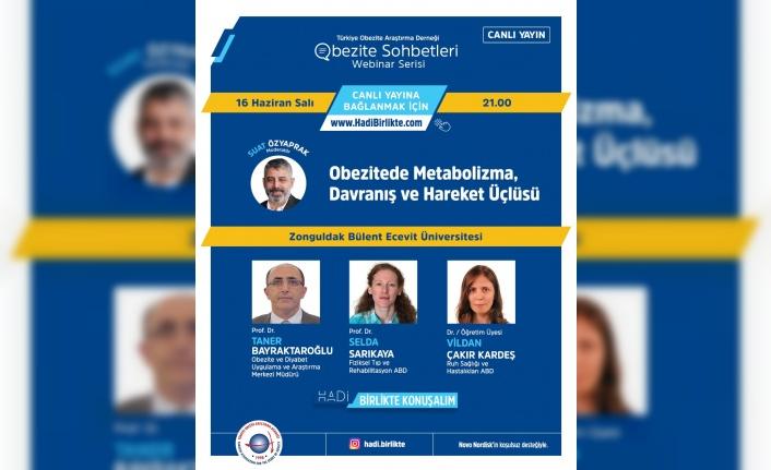 Türkiye Obezite Araştırma Derneği (TOAD) Obezite Sohbetleri Webinar Serisi'ne Davetlisiniz!!!