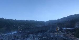 Burdur Bucak'taki orman yangını kısmen kontrol altında