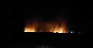 Kırıkhan'da ormanlık alanda yangın