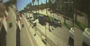 (ÖZEL) Böyle kaza olmaz dedirten olayda otomobilin çarptığı kızını gören anne bayıldı