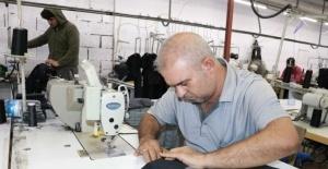 Ünlü markaların giysileri Kahramanmaraş'ta üretiliyor