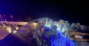 Burdur'da feci kaza: 3 ölü, 3 yaralı