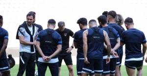 Hatayspor, Fatih Karagümrük maçının hazırlıklarını sürdürdü
