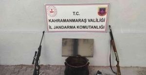 Kahramanmaraş'ta bağ evi hırsızlığına 2 tutuklama