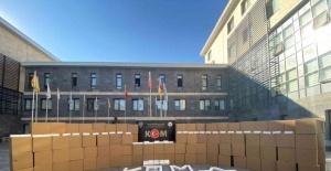 Kahramanmaraş'ta kaçak makaron operasyonları