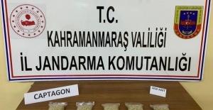 Kahramanmaraş'ta uyuşturucuya 2 gözaltı