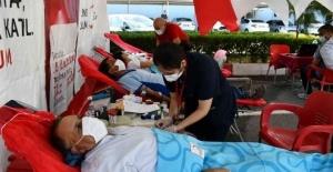 MESKİ personelinden kan bağışı desteği