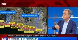 """Seçer: """"Merkezi hükümetin yüzü bize dönük olursa Mersin'i kimse tutamaz"""""""