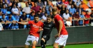 Süper Lig: Adana Demirspor: 0 - Yeni Malatyaspor: 1 (İlk yarı)