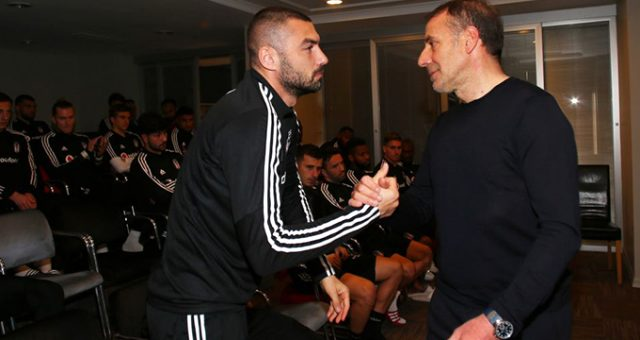 Avcı, Beşiktaş'a veda etti