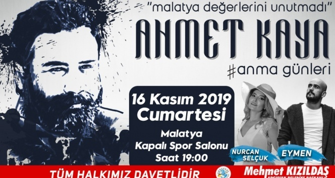 Ahmet Kaya memleketi Malatyada anılacak