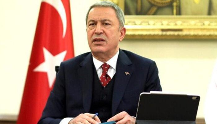 Bakan Akar, İran Genelkurmay Başkanı Bageri ile telefonda görüştü