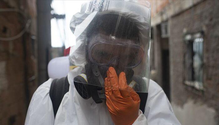 Brezilya'da koronavirüsten ölenlerin sayısı 24 bin 512'ye yükseldi