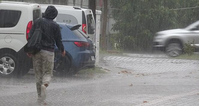 Çanakkaleye sağanak yağış geliyor