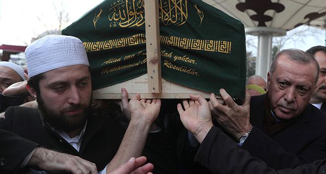 Cumhurbaşkanı Erdoğan, Ahmet Vanlıoğlu'nun cenaze törenine katıldı