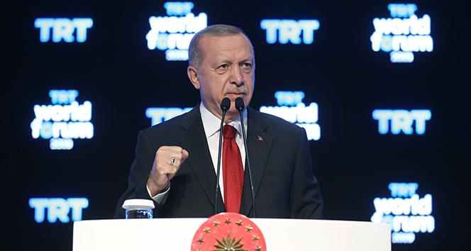Cumhurbaşkanı Erdoğan'dan Batı'ya sert tepki!