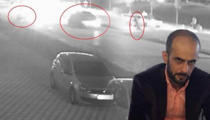 Dövülüp araçtan atıldıktan sonra otomobilin çarptığı yaralı öldü! Görüntüler ortaya çıktı