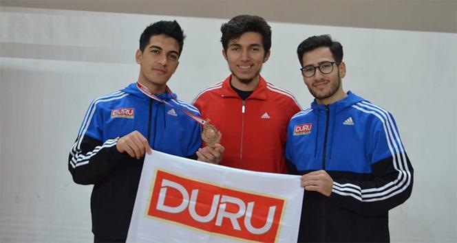 Duru Bulgur Performans Spor Kulübü Mahmut Samet İçer ile gururlandı