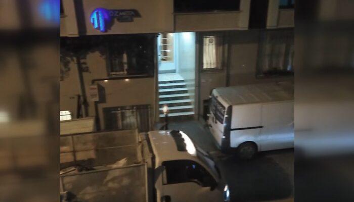 Esenyurt'ta dehşet anları! Eşinin baba evini kurşunlayan şüpheli kamerada