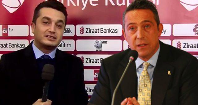 Göktuğhan Argın, Ali Koç#039;a...