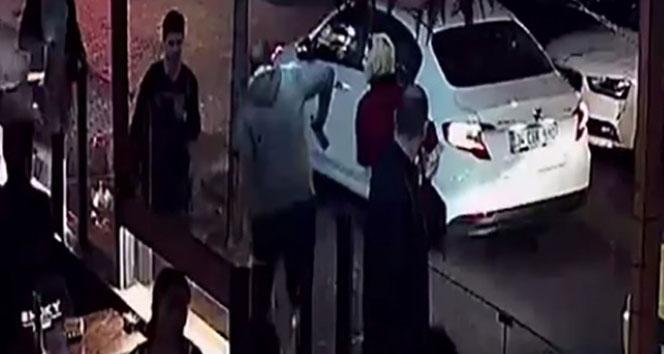 İhlas Haber Ajansı İstanbul'da şoke eden olay kamerada