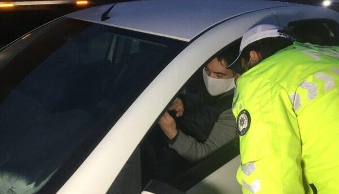İstanbul'un giriş ve çıkışında koronavirüs denetimi