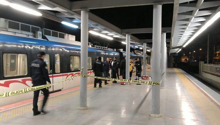 İzmir'de metro hattına atlayan kişi hayatını kaybetti