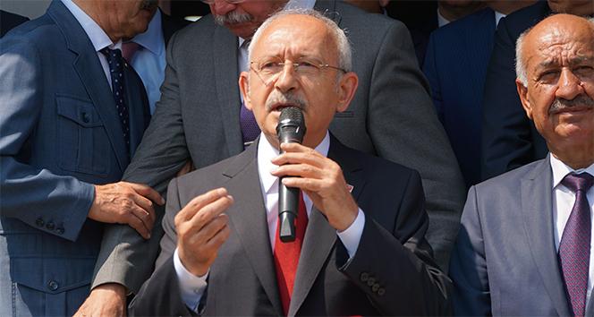 """Kılıçdaroğlu: """"Bir felaket yaşanıyorsa hep beraber yardımlar yapmaya çalışıyoruz"""""""